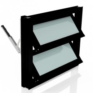 Lamellenfenster ohne thermische Trennung